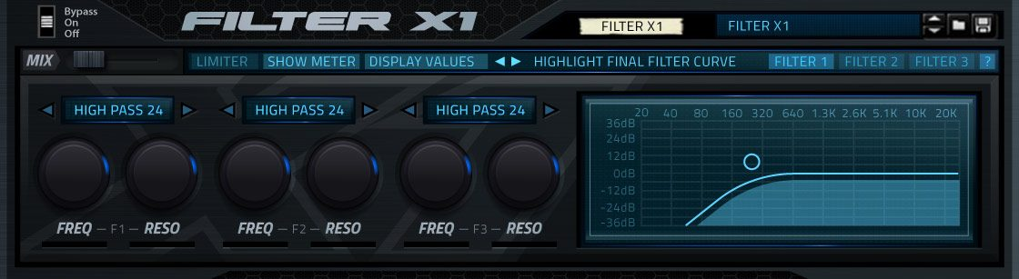 Product image of Filter X1 Rack Extension